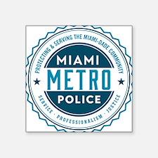 Miami Metro Police Sticker