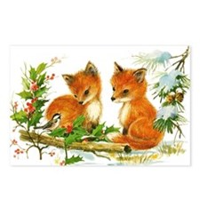 Baby Foxes Postcards (Package of 8)