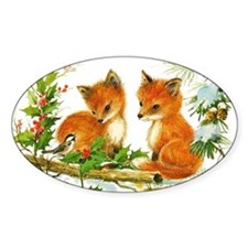Baby Foxes Decal