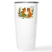Baby Foxes Travel Mug
