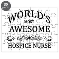 World's Most Awesome Hospice Nurse Puzzle