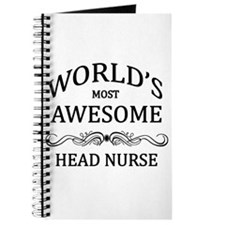 World's Most Awesome Head Nurse Journal
