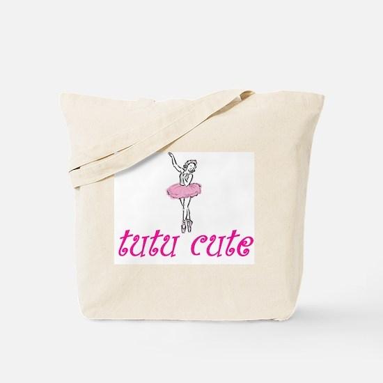 Tutu Cute Tote Bag
