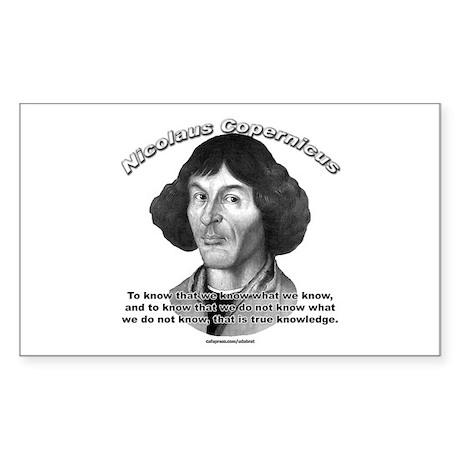 Nicolaus Copernicus 01 Rectangle Sticker