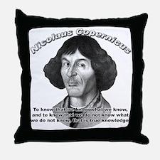 Nicolaus Copernicus 01 Throw Pillow