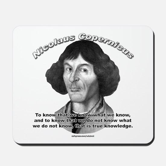 Nicolaus Copernicus 01 Mousepad