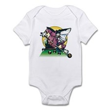 Pool Shark Infant Bodysuit
