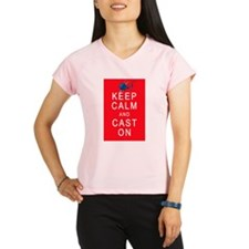 Keep Calm and Cast On Knitting Design Performance