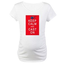 Keep Calm and Cast On Knitting Design Shirt