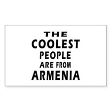 The Coolest Armenia Designs Decal