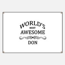 World's Most Awesome DON Banner