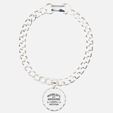 World's Most Awesome Dietitian Charm Bracelet, One