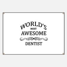 World's Most Awesome Dentist Banner