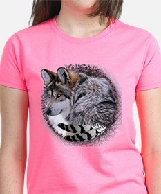 Lace Wolf Tee
