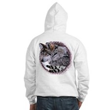 Lace Wolf Hoodie