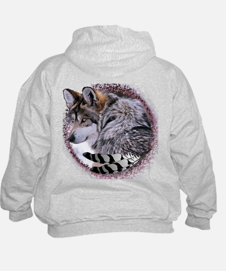 Lace Wolf Hoody