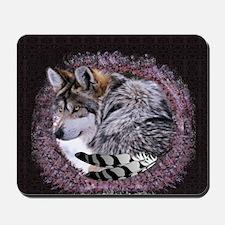 Lace Wolf Mousepad