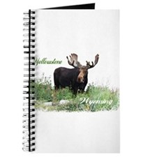 Yellowstone WY Moose Journal