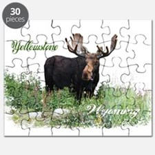 Yellowstone WY Moose Puzzle