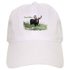 Grand Tetons WY Moose Baseball Cap