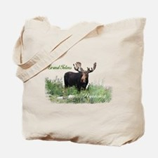 Grand Tetons WY Moose Tote Bag