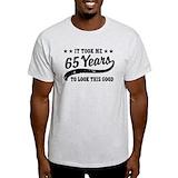 65th birthday Tops