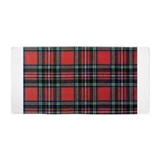 Royal Stewart Tartan2 Beach Towel