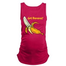 Got Banana? Maternity Tank Top