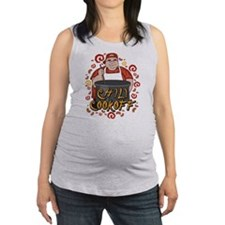 Chili Cookoff Maternity Tank Top