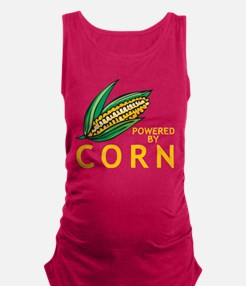 Powered By Corn Maternity Tank Top
