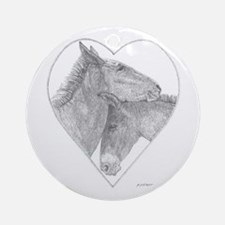 True Love Ornament (Round)