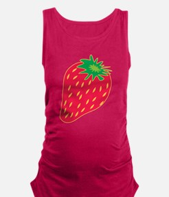 Strawberry Maternity Tank Top