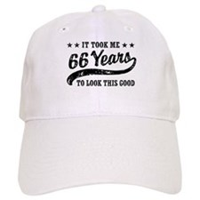 Funny 66th Birthday Baseball Cap