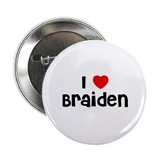 "I * Braiden 2.25"" Button (10 pack)"