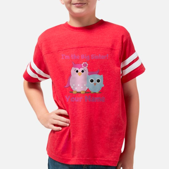 bigsisowl Youth Football Shirt