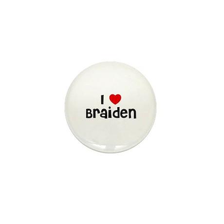 I * Braiden Mini Button