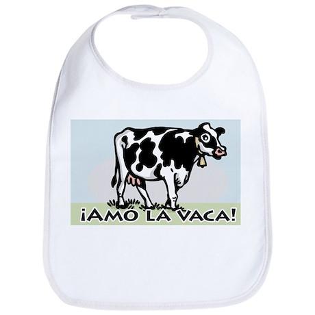 Love the Cow Spanish Bib