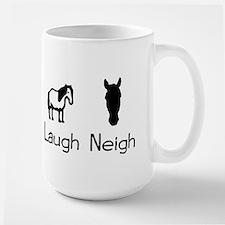 live love laugh neigh Mug