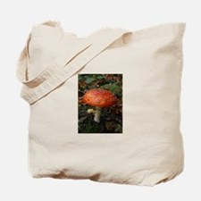 Red Toadstool Photo Tote Bag