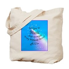 God Gave Us Music Tote Bag