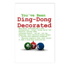 You've Been Ding-Dong Decorat Postcards (Package o