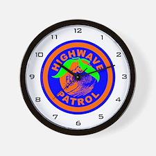 Florida Highwave Patrol Wall Clock