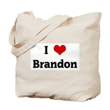 I Love Brandon Tote Bag