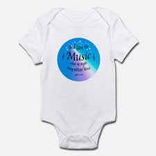God Gave Us Music Infant Bodysuit