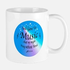 God Gave Us Music Mug