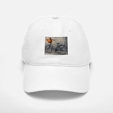 Old Bike Baseball Baseball Cap