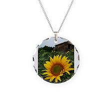 Farmhouse Sunflower Necklace