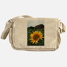 Farmhouse Sunflower Messenger Bag