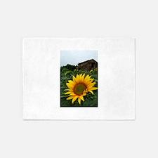 Farmhouse Sunflower 5'x7'Area Rug