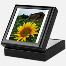 Farmhouse Sunflower Keepsake Box